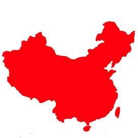 矢量中国地图