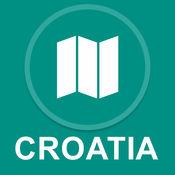 克罗地亚 : 离线GPS导航